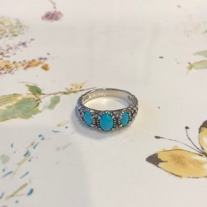 Sleeping Beauty Turquoise and Sterling Silver...